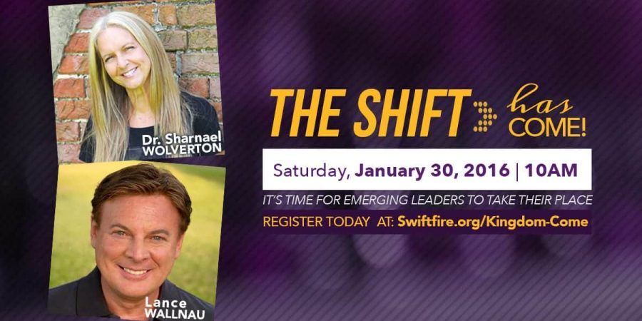 Kingdom Come Event with Lance Wallnau Sharnael Wolverton