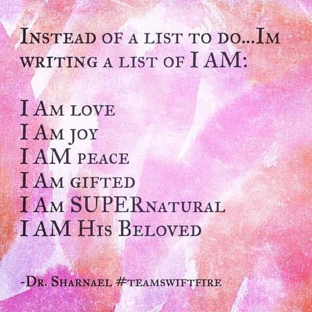 List of I Ams