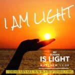 I Am Light His Burdens Light 700x700