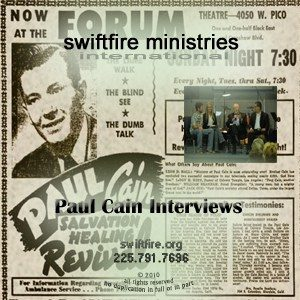 Paul Cain Interviews 2 CD set