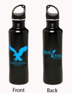 black ss water bottle sf yl