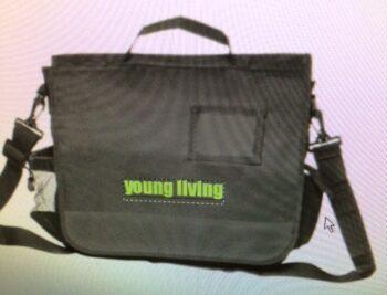 blk green yl bag