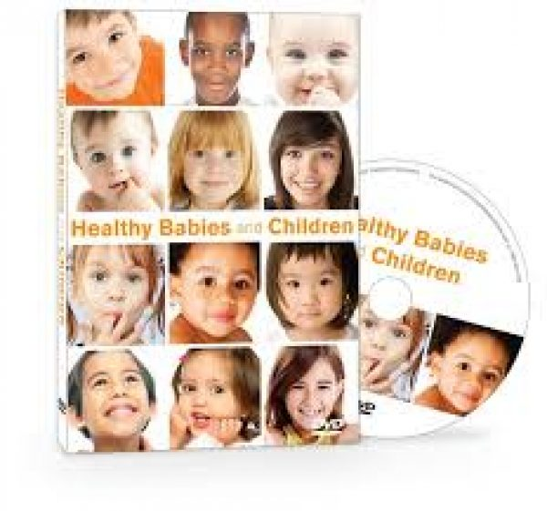 healthy babies and children dvd