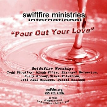 pour out your love worship cd