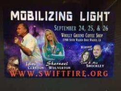sharnael ministering mobilizing light