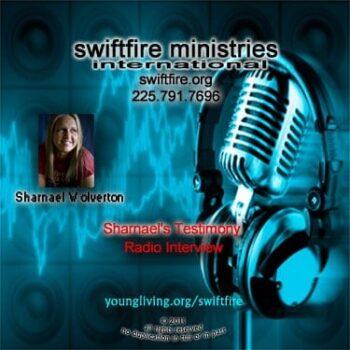 sharnael testimony radio interview
