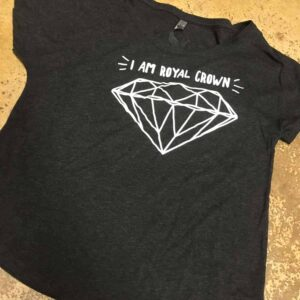 I Am Royal Crown Diamond T-shirt