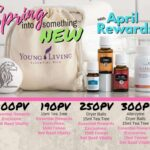 spring into something new april rewards 2018